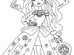 Free Printable Ever After High Coloring Pages January 2016