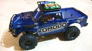 100 Komodo Truck RC ADVENTURES G Made GS01 4x4 110 Electric Trail