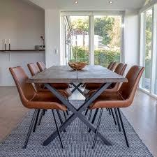 esszimmer tisch stühle set fifora 7 teilig