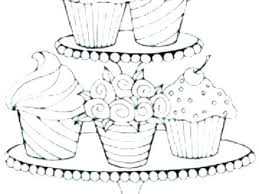 Coloring Book Pictures Of Cupcakes Pages Pretty Cupcake Free Enchanting Online And Cookies