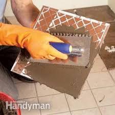 tile installation how to tile existing tile family handyman