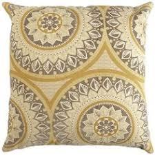 yellow throw pillow premier prints yellow by landofpillowsdotcom