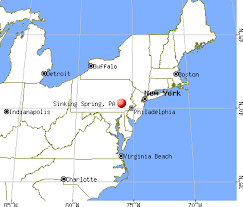 Ymca Gym Sinking Spring Pa by Sinking Spring Pennsylvania Pa 19608 Profile Population Maps