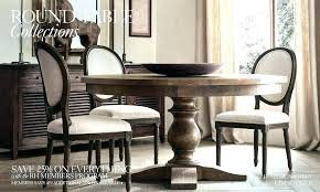 Dining Room Table Restoration Hardware Tables Transitional With C Lighting Fixtures