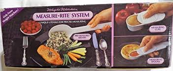 weight watchers measure rite system measuring