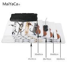 maiyaca chat souris pad grande taille tapis de souris d ordinateur