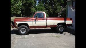 100 454 Truck 1978 Chevy K20 4X4 Big Block Cold Start And Walk Around