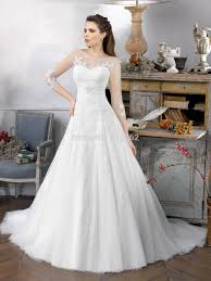 a collection of modest wedding dresses with 3 4 sleeves cherry marry