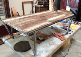 Fireside Lodge Furniture New Modern Wood And Metal Compact Medium