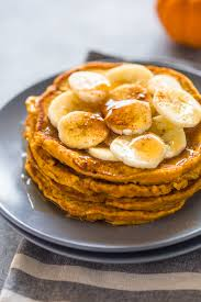 Pumpkin Pancakes With Gluten Free Bisquick by Healthy Pumpkin Banana Pancakes Paleo G F Protein Options