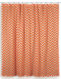 Orange Shower Curtains
