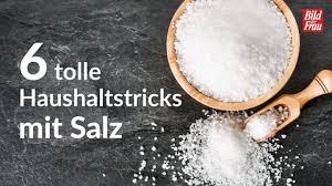 6 haushaltstipps mit salz