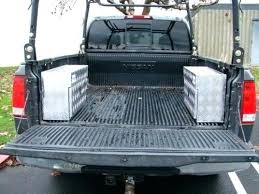 Elegant Truck Bed Drawer Design How To Install A Sliding System