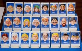 Remember These Faces Guess Who Board Game
