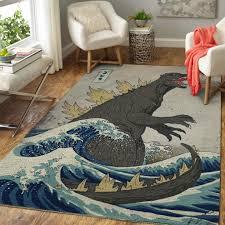 godzilla teppich wohnzimmer küchenteppich teppichboden