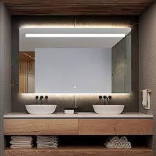 xjm hinten beleuchtete led beleuchtet badezimmer spiegel