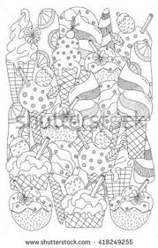 Hand Drawn Ethnic Patterned In Doodle Zentangle Style Coloring Book Page For Adults And Child Zendala Design Relax Meditation