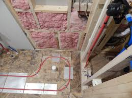 how to create a shower floor part 1