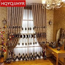 2020 heiße modelle europäischen stil luxus villa vorhänge für wohnzimmer elegante tüll luxuriöse vorhänge für schlafzimmer fenster vorhang