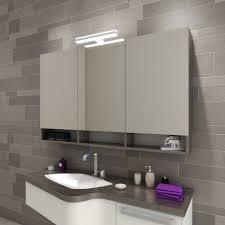 spiegelschrank mit le und ablage fürs bad 2