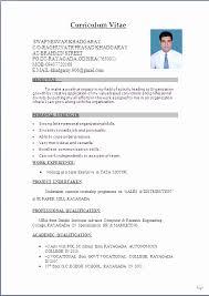 Sample Resume Mba Hr Marketing Fresher Lovely Pdf