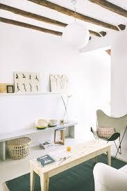 Bohemian Feeling Loft Apartment In Spain Wiht Paper Lantern Light And Beamed Ceilings Sfgirlbybay