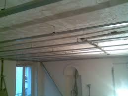 plafond suspendu placoplatre menuiserie image et conseil