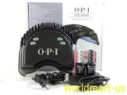 OPI LED LAMP Light Curing Gel Nail Polish 110v 240v Base