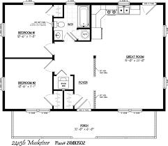 30x30 2 Bedroom Floor Plans by Guest House 30 U0027 X 22 U0027 Floor Layout Musketeer Floor Plan