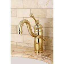 Unlacquered Brass Bathroom Faucet by Heritage Polished Brass Vessel Faucet Free Shipping Today