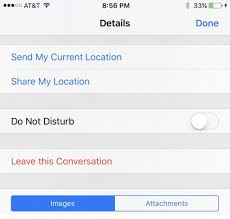 How to Leave Group Chat Apple iPhone or iPad