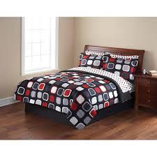 Walmart Bed Sets Queen by Mainstays Evans Bed In A Bag Bedding Set Bedding Walmart Com