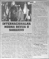 INTERNATIONAL FASHION SHOW Sarajevo