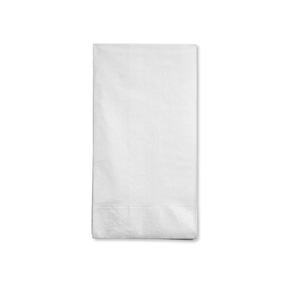 Creative Converting Paper Guest Napkins - White, 16 ct
