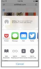 iphone Cordova sharing browser URL to my iOS app Clipper ios