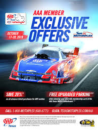 AAA Members Save! – Texas Motorplex Aarp Hertz Discount Codes What Is Hilton Mvp And How Does It Work 20 Off Video 2019 Get Coupon From Home Depot For Signing Up Stihl Leaf Blower Costco Discount Code Beats Aaa At Hyatt Sotimes Turbotax Service Code Voucher 2019members Save Special Offers Cboardcoutscom Promo Paytm Latest Budget Coupon Aaa Secrets To Deep Discounts For Teppanyaki Grill Coupons Mn Designer Bikinis Uk To Money On Cedar Point Tickets Members Texas Motorplex