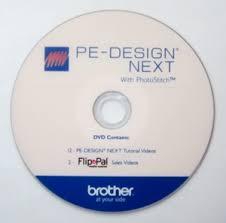 Brother Instructional Tutorial DVD Video PE Design Next 9 0