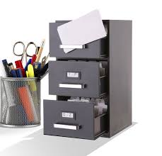 Desk Drawer Organizer Amazon by Amazon Com Mini File Cabinet Business Card Holder 3 Drawer