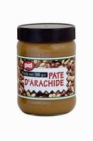 pate d arachide pcd desserts snacks pcd pate d arachide sans sucre 500g