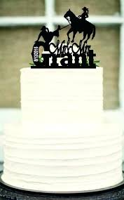 Funny Country Wedding Cake Toppers Bride And Groom Horse Topper Personalized Custom Unique Rustic Nz