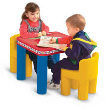 classic kids table and chair set little tikes