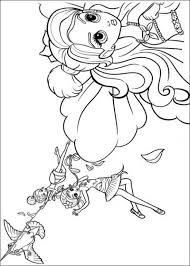 Free Coloring Sheets Of Barbie Thumbelina Printable Picture 15 550x770