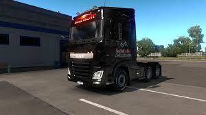 RED BULL PAINTJOB 1.32 TRUCK SKIN -Euro Truck Simulator 2 Mods