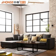 100 Sofa Living Room Modern Drawing Design Black Furniture Fabric L