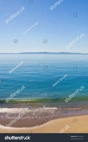 100 Santa Barbara Butterfly Beach Channel Along Stock Photo
