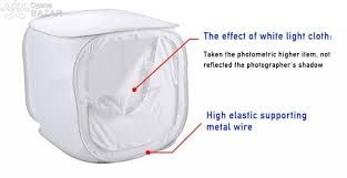 104 Studio Tent High Quality Folding Photo Soft Box Shooting Softbox Cube Cyprus Bazar