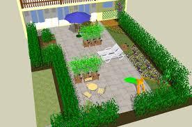sketchup garden conception 3d de jardin avec le logiciel gratuit
