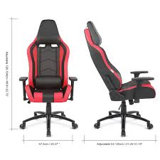 Recaro Desk Chair Uk by Gaming Office Chair Ergolux Rx8 Deluxe Gaming Office Chair Red