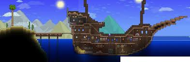 Terraria Pirate Ship by XploSlime7