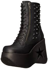 demonia women u0027s shoes boots chicago clearance designer outlet